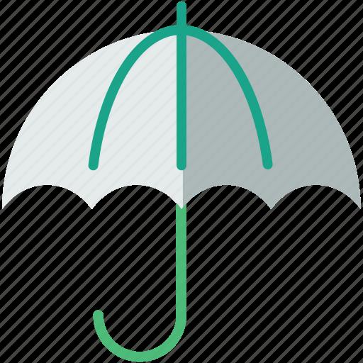forecast, protection, umbrella, weather icon