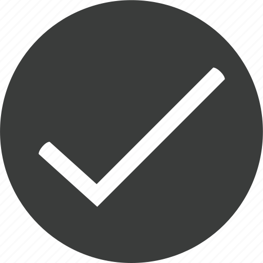 accept, check, checkmark, success icon