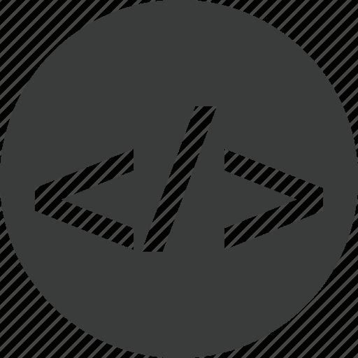 code, development, html, programming icon