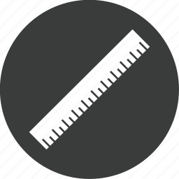 measure, ruler, tool, tools icon