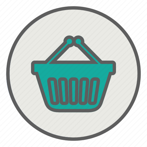 basket, online, sale, shopping icon