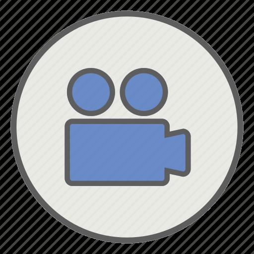 camera, media, photo, recording, video icon