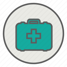 aid, emergency, first, health, kit, medical icon