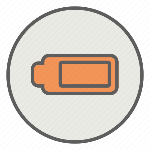 battery, energy, full, low, mobile icon