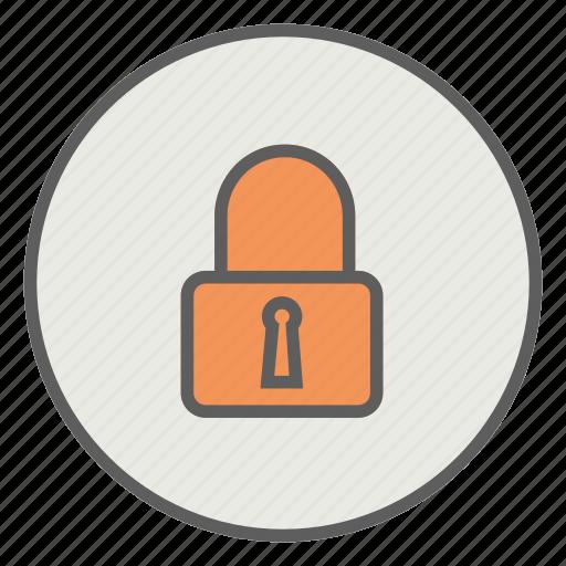 key, lock, locked, safety icon