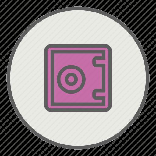box, lock, password, safe, security icon