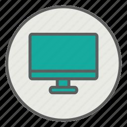 computer, display, laptop, monitor, screen icon