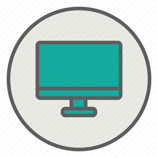 computer, display, laptop, monitor, screen icon