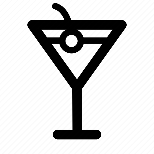 cocktail, drink, nightlife, party icon