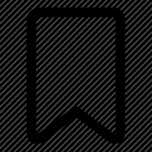 bookmark, save icon