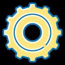 cogwheel, gear, setting