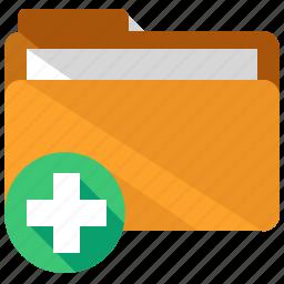 add, application, apps, create, folder, new, web icon