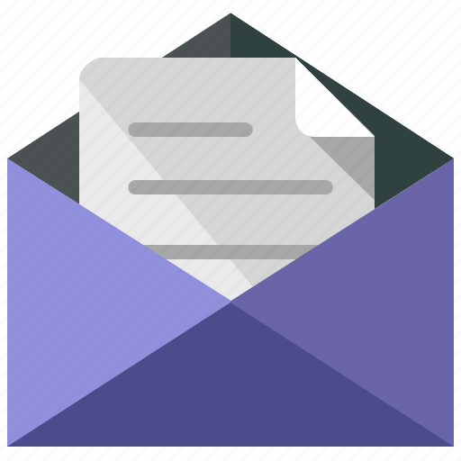 application, apps, envelope, mail, message, open, web icon