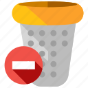 apps, bin, delete, remove, rubbish, trash, web icon