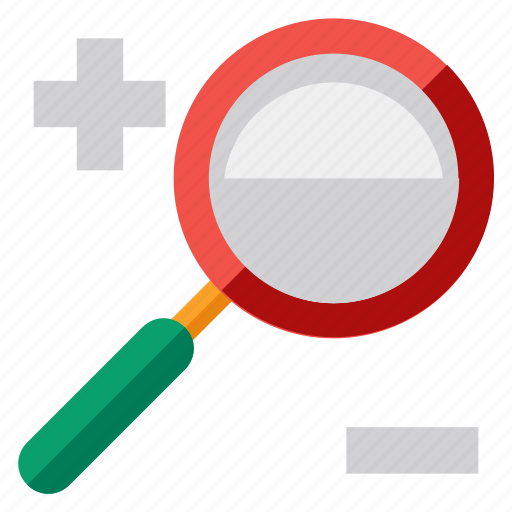 apps, in, magnifier, out, search, web, zoom icon