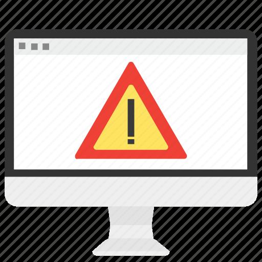 alert, denied, error, message, virus, warning, web icon