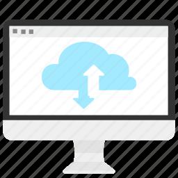 cloud, computing, hosting, internet, network, services, storage icon
