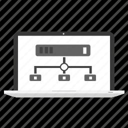 comunication, data, database, hosting, internet, network, storage icon