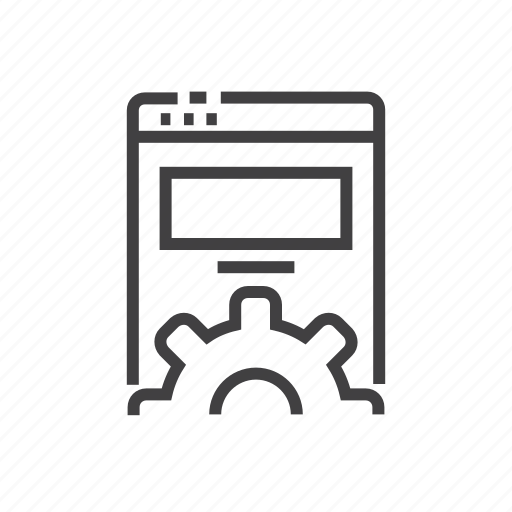 coding, development, online, programming, website icon