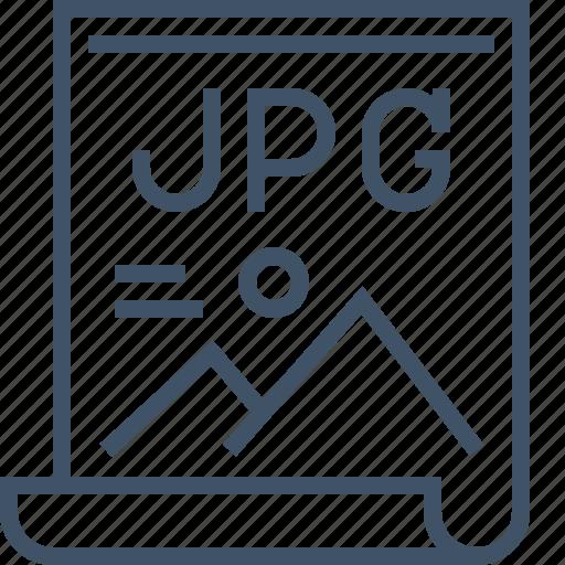 file, image, jpg, photo, type icon