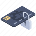 credit security, data encryption, safe banking, secure payment, secure transaction icon