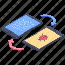 bug deliver, bug spread, bug transfer, deportation, virus transmit icon