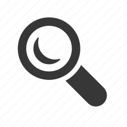 interface, magnifying glass, raw, search, searching, simple, web icon