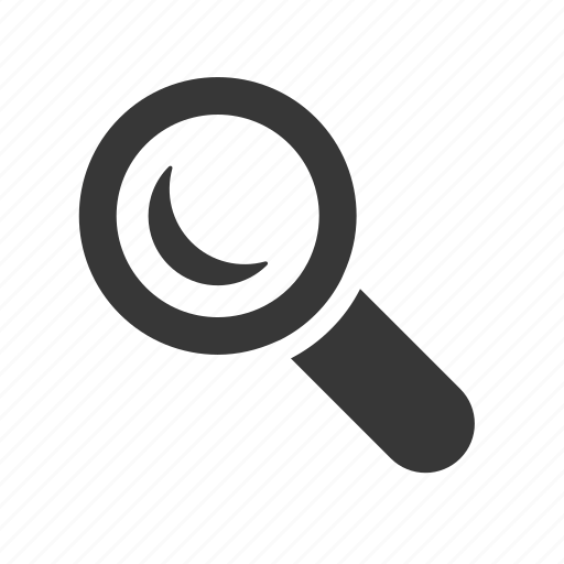 interface magnifying glass raw search searching simple web icon