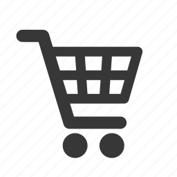interface, raw, shopping, shopping cart, simple, web icon