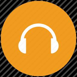 ear buds, ear cable, earphone, earpiece icon