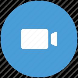 camcorder, handy camera, handycam, movie camera, video camera icon