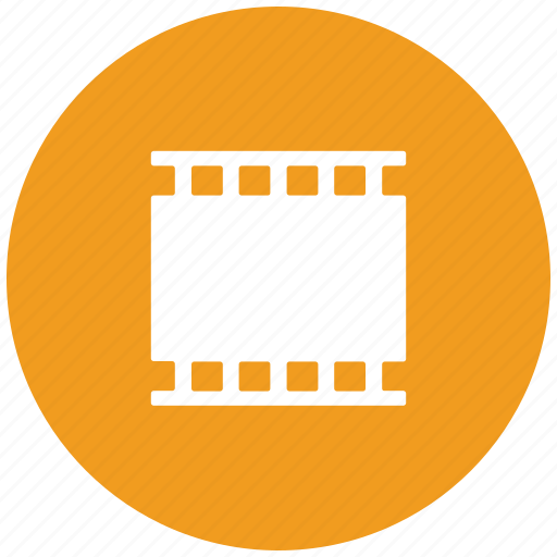 camera film, camera reel, camera roll, camera tape, cine film, film strip icon