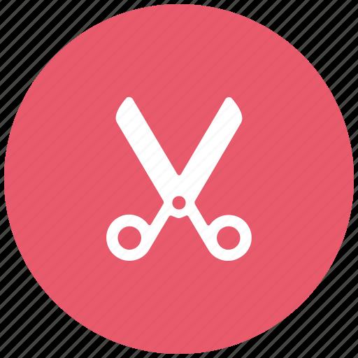 cut, cut folder, remove, scissors, shears, trimmer, web icon