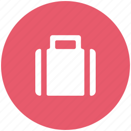 bag, briefcase, business bag, data, folder, luggage, suitcase icon
