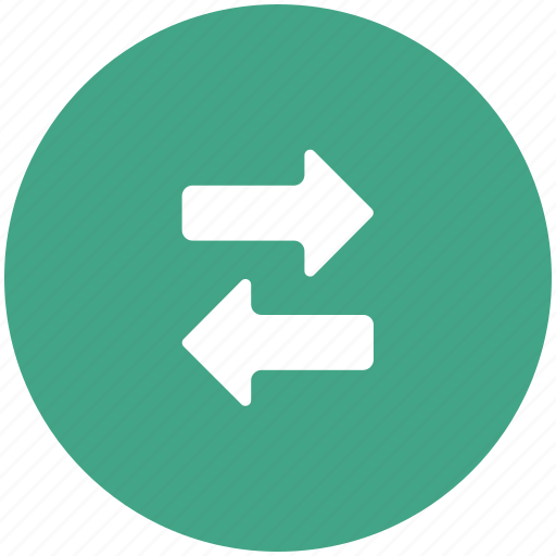 arrows, connection, directions, left, right, transaction, transform icon
