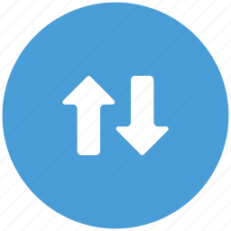 arrows, connection, directions, transaction, transform, ups and downs icon