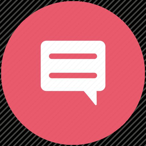 bubbles, chat, chatting, comments, communication, conversation, speech bubble icon