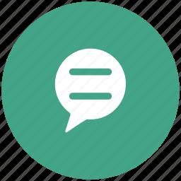 bubbles, chat, chatting, comments, communication, conversation, speech bubble, talk icon