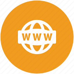 domain, link, url address, web service, website, world wide web icon
