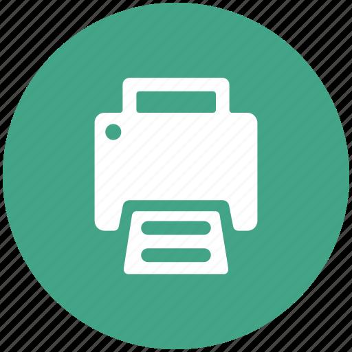fax, fax machine, machine, paper print, print, printer, telefex icon