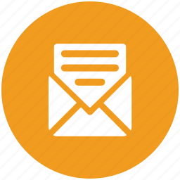 email, envelope, inbox, letter, mail, message, sent email icon