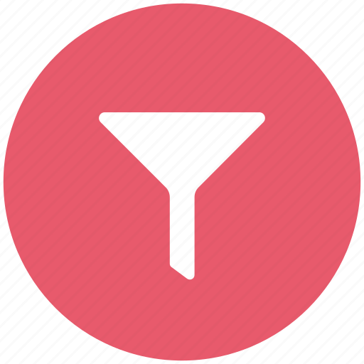 filter, filtration, funnel, ordinary, sort, sorting icon