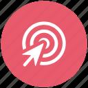 arrow, click, cursor, goal, mouse cursor, target, zim icon