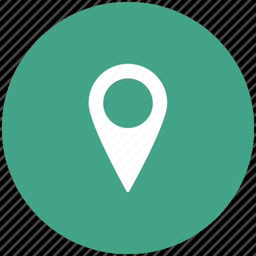 gps, locator, map, map pin, marker, navigation, navigational icon