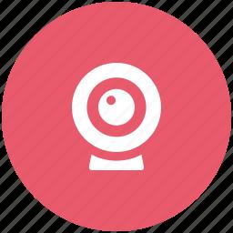 camera, computer cam, video cam, webcam icon