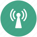 mobile signals, radio signals, signals, tower signals, wifi, wireless icon