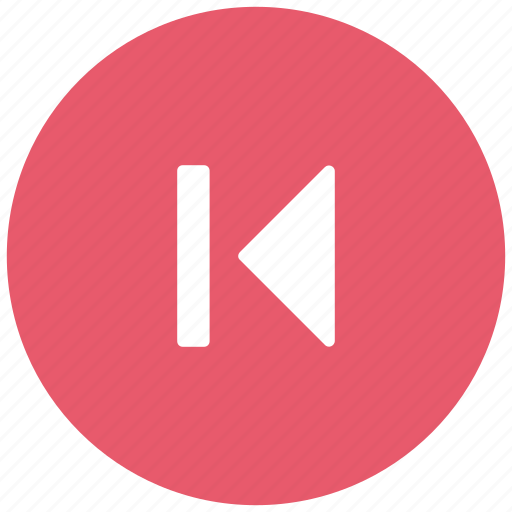 back, back audio, back button, back video, left, media, media button, player icon