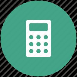 calculate, calculation, calculator, calculator machine, finance, mathematical icon