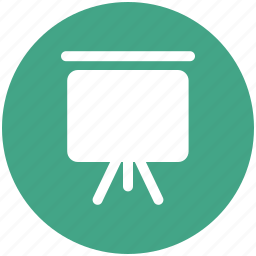 canvas, easel, greenboard, lecture board, painting, presentation board, project, whiteboard icon