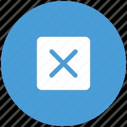 block, cancel, close, cross, delete, sign icon